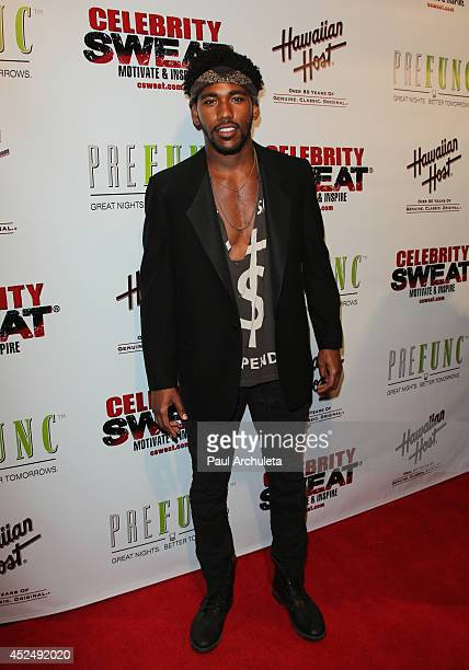 Actor / Singer Brandon Mychal Smith attends Evander Holyfield's ESPYS Awards after party on July 16 2014 in Los Angeles California