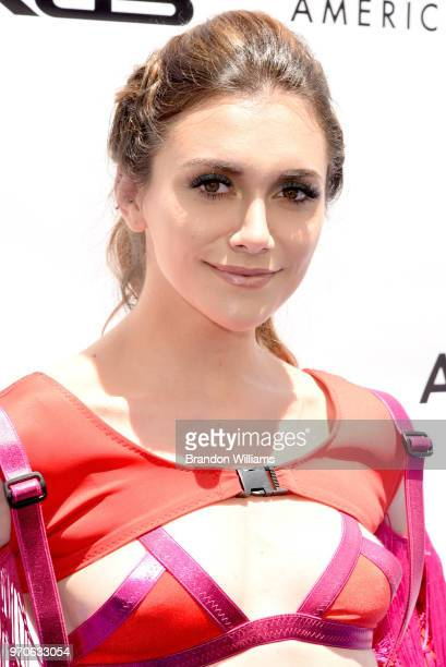 Actor / singer / dancer Alyson Stoner hosts the 3rd Annual 'It Gets Better A Poolside Pride Celebration' event at The Standard Hollywood on June 9...