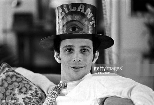Actor, singer, dancer, and photographer Joel Grey photographed in April 1964.
