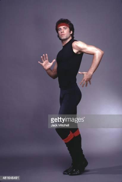 Actor singer dancer John Travolta as Tony Manero in 'Staying Alive' in 1983
