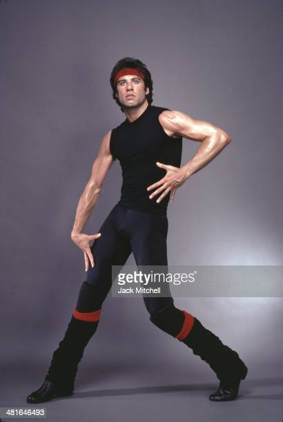 Actor singer dancer John Travolta as Tony Manero in 'Staying Alive' in 1983