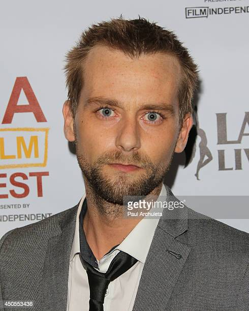 Actor / Singer Joe Anderson attends the premiere of Supremacy at the 2014 Los Angeles Film Festival at Regal Cinemas LA Live on June 12 2014 in Los...