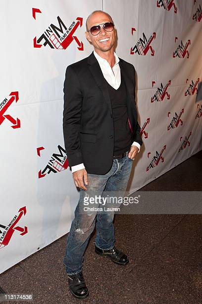 Actor / singer Luke Goss arrives at the 'Blood Out' world premiere at Directors Guild Of America on April 25 2011 in Los Angeles California