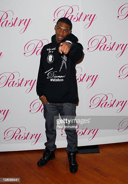 Actor / Singer Mishon Ratliff attends popstar Jessica Jarrell's Sweet 16 birthday party at Moonlight Rollerway on January 15, 2011 in Glendale,...