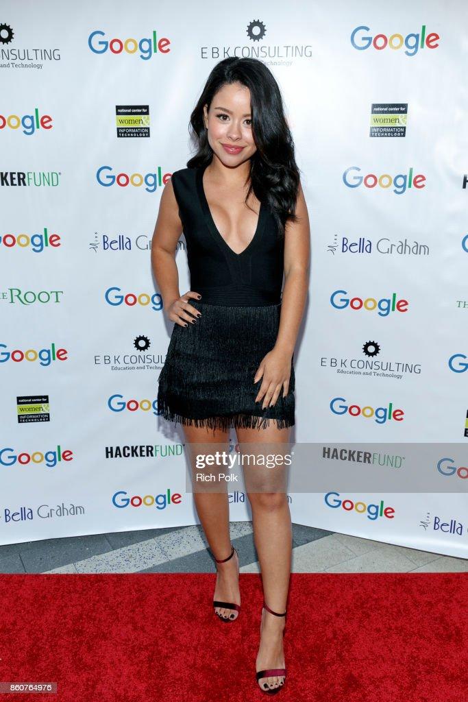 Actor, Singer, Model and host, Cierra Ramirez Google CS+X Series: Dress Code at Google Los Angeles Office on October 12, 2017 in Venice, California.