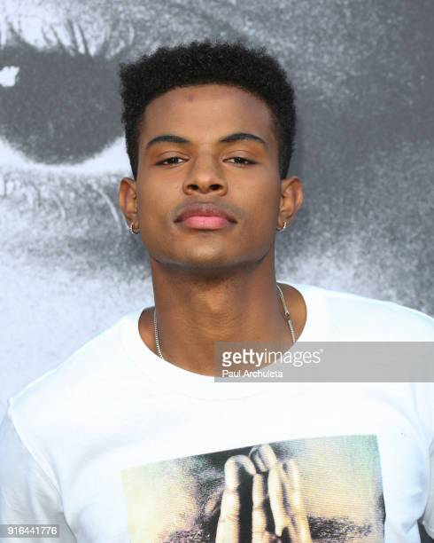 Actor / Singer Trevor Jackson attends the premiere of Lionsgate's 'All Eyez On Me' on June 14 2017 in Los Angeles California