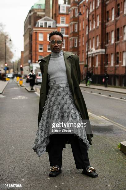 Actor Singer write and director Billy Porter during London Fashion Week February 2020 on February 17 2020 in London England