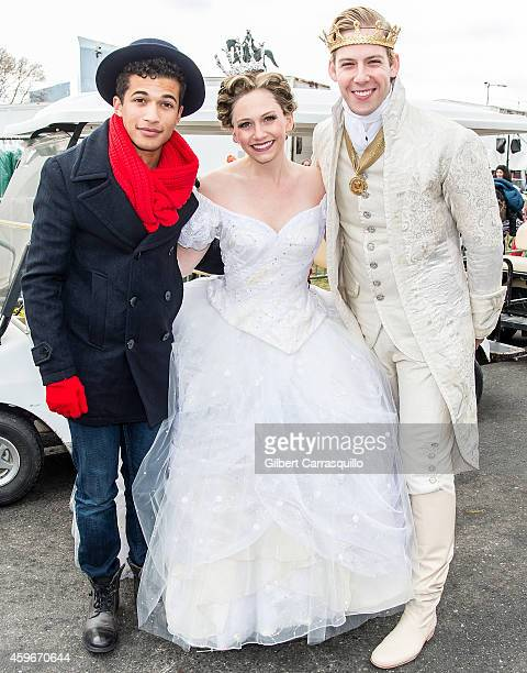 Actor/ Singer/Songwriter Jordan Fisher and Rogers And Hammerstein's CINDERELLA cast attend the 95th Annual 6abc Dunkin' Donuts Thanksgiving Day...