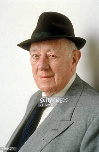 Actor Sir Alec Guinness pictured in 1996