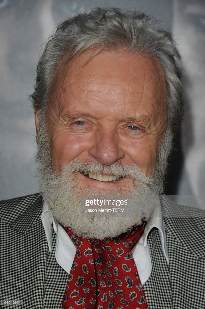 Actor Sir Anthony Hopkins arrives at the Los Angeles premiere of 'The Wolfman' at ArcLight Cinemas on February 9, 2010 in Hollywood, California.