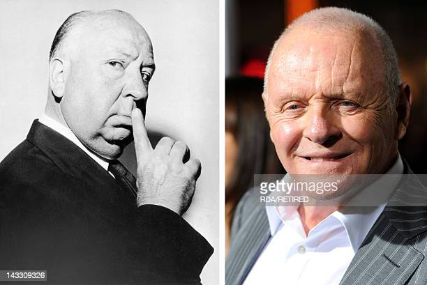 In this composite image a comparison has been made between Alfred Hitchcock and actor Sir Anthony Hopkins Sir Anthony Hopkins will reportedly play...