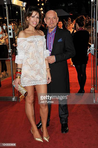 Actor Sir Ben Kingsley and Daniela Lavender attend the Made in Dagenham world premiere at the Odeon Leicester Square on September 20 2010 in London...
