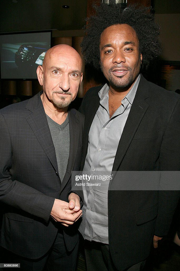 Actor Sir Ben Kingsley and producer Lee Daniels attend the after party for 'Tennessee' hosted by Cadillac at Tenjune lounge during the 2008 Tribeca Film Festival on April 26, 2008 in New York City.