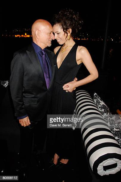 """Actor Sir Ben Kingsley and wife Lady Kingsley at the screening of British Classic """"If"""" sponsored by Vakko's Grand Classic, and chosen by Daniel..."""