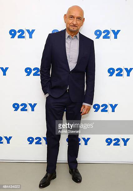 Actor Sir Ben Kingsley attends Reel Pieces With Annette Insdorf Preview Screening Of 'Learning To Drive' at 92nd Street Y on August 18 2015 in New...