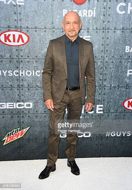 Actor Sir Ben Kingsley attends Spike TV's Guys Choice 2015 at Sony Pictures Studios on June 6 2015 in Culver City California