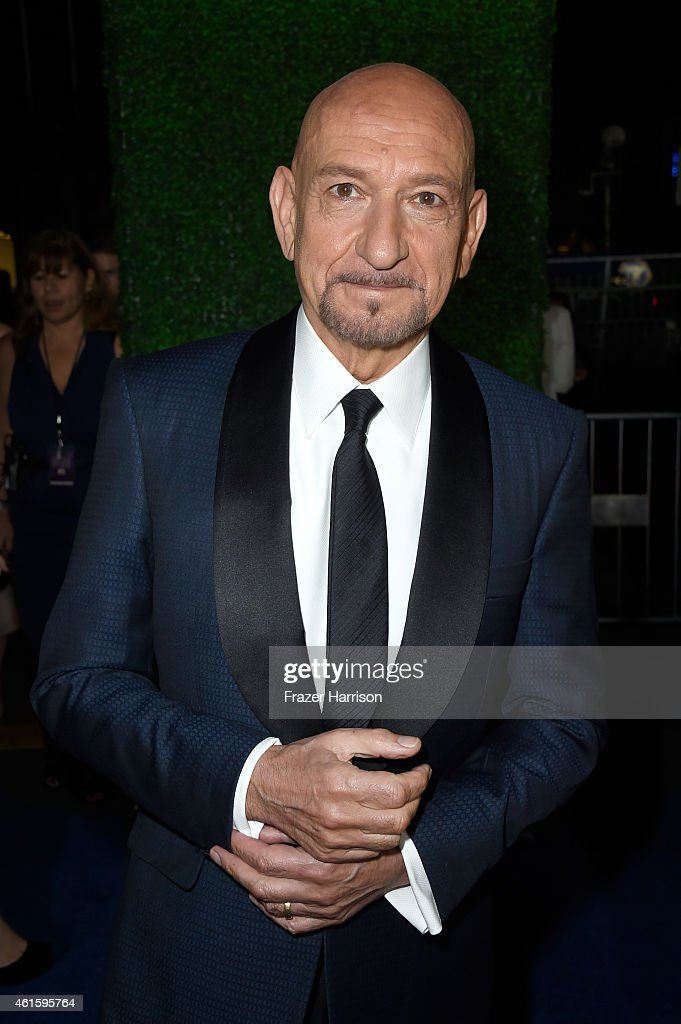 Actor Sir Ben Kingsley attends the 20th annual Critics' Choice Movie Awards at the Hollywood Palladium on January 15, 2015 in Los Angeles, California.