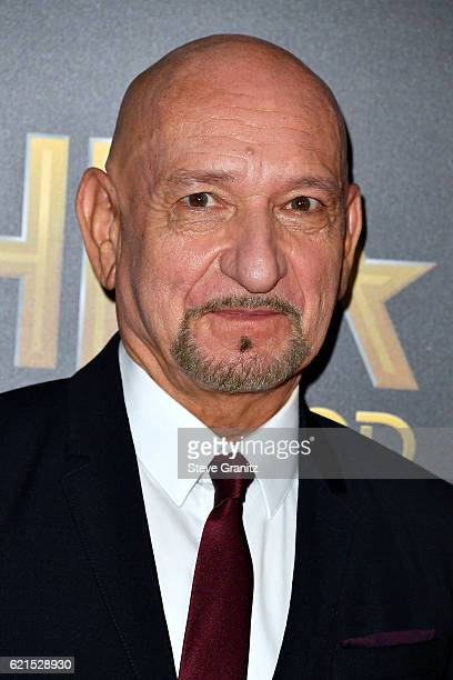 Actor Sir Ben Kingsley attends the 20th Annual Hollywood Film Awards on November 6 2016 in Los Angeles California