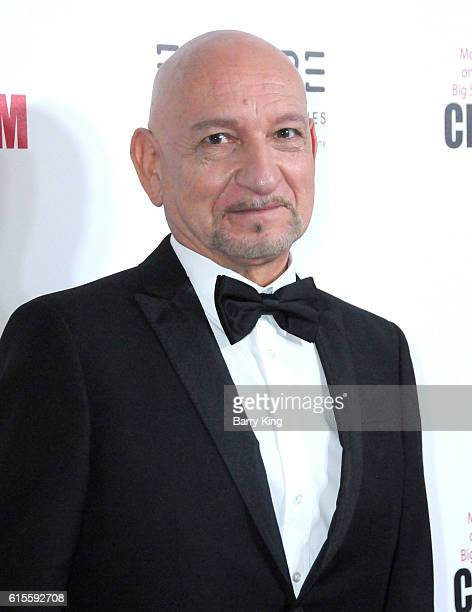 Actor Sir Ben Kingsley attends the 30th Annual American Cinematheque Awards Gala at The Beverly Hilton Hotel on October 14 2016 in Beverly Hills...