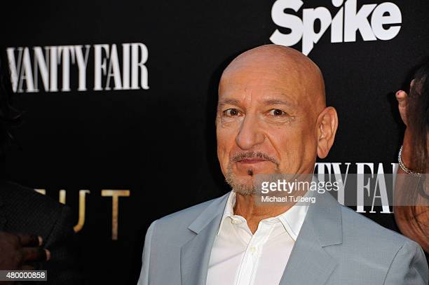 Actor Sir Ben Kingsley attends the premiere of Spike TV's new series 'TUT' at Chateau Marmont on July 8 2015 in Los Angeles California