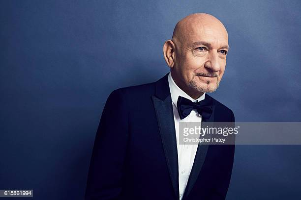 Actor Sir Ben Kingsley poses for a portrait at the 2016 American Cinematheque Awards on October 14 2016 in Beverly Hills California