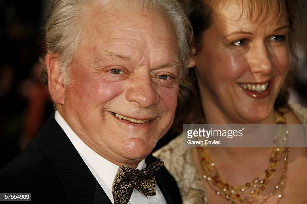 Actor Sir David Jason and his wife Gill Hinchcliffe arrive at the Pioneer British Academy Television Awards 2006 at the Grosvenor House Hotel on May...