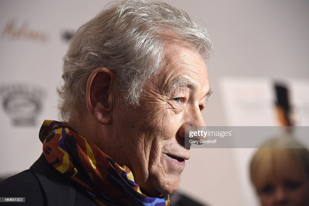 Actor Sir Ian McKellen attends the 'Mr. Holmes' New York Premiere at the Museum of Modern Art on July 13, 2015 in New York City.