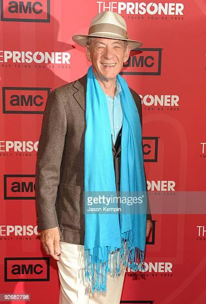 Actor Sir Ian McKellen attends The Prisoner New York screening at the IFC Center on November 3 2009 in New York City