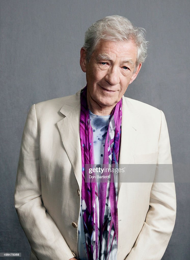 Sir Ian McKellan, Los Angeles Times, November 19, 2015 : News Photo