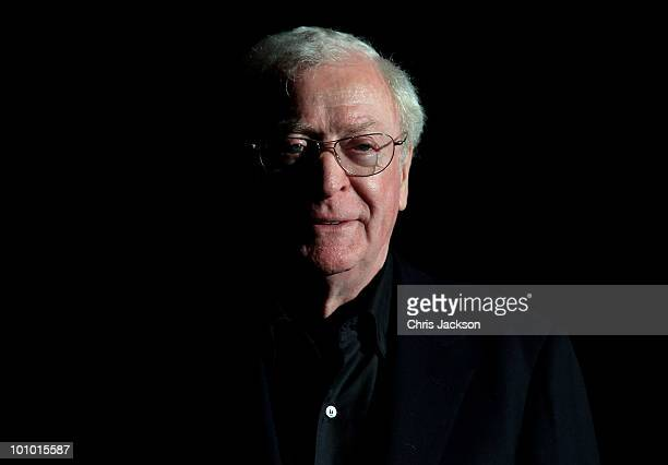 Actor Sir Michael Caine attends The Galleries of Modern London launch party at the Museum of London on May 27 2010 in London England