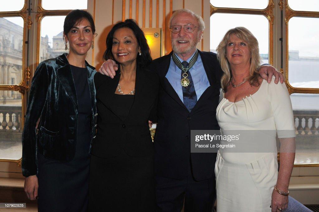 """Actor Michael Caine Awarded """"Commandeur Des Arts Et Des Lettres"""" At Ministere De La Culture : News Photo"""