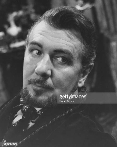 Actor Sir Michael Redgrave in a scene from the television drama 'Hedda Gaber' June 1st 1962