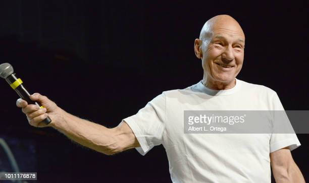 Actor Sir Patrick Stewart, in an unannounced special guest appearance, that he will return to the role of Captain Jean Luc Picard in the second Star...