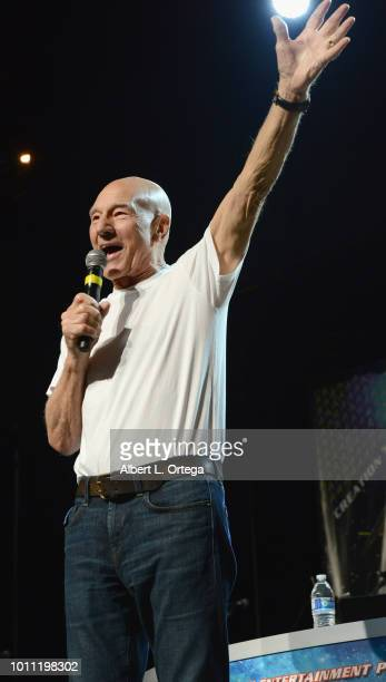 Actor Sir Patrick Stewart, in an unannounced special guest appereance, announces that he will return to the role of Captain Jean Luc Picard in the...