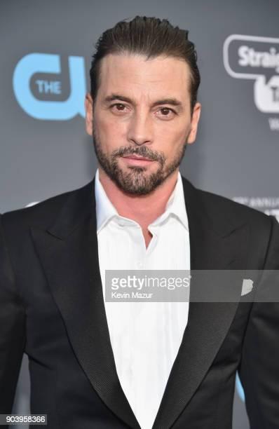 Actor Skeet Ulrich attends The 23rd Annual Critics' Choice Awards at Barker Hangar on January 11 2018 in Santa Monica California