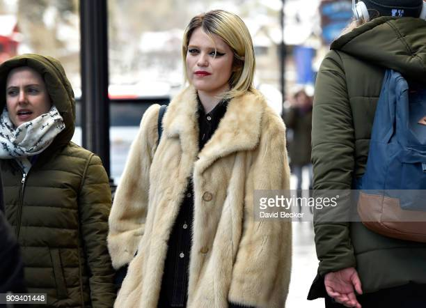Actor Sky Ferreira attends the 2018 Sundance Film Festival on January 23 2018 in Park City Utah