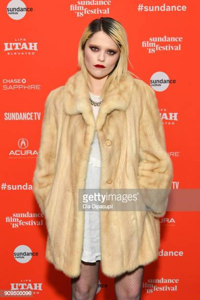 Actor Sky Ferreira attends the 'Lords Of Chaos' Premiere during the 2018 Sundance Film Festival at Park City Library on January 23 2018 in Park City...
