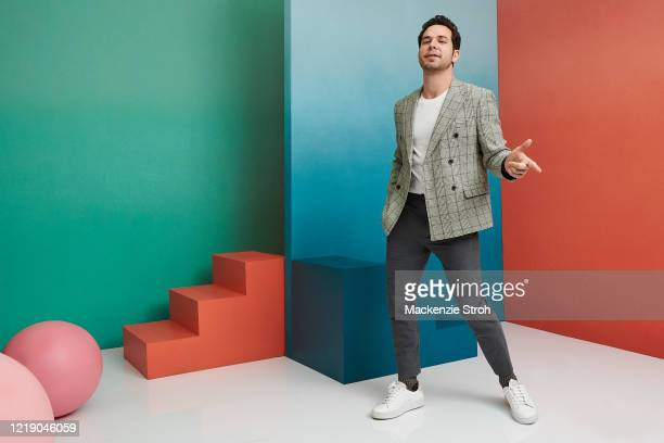 Actor Skylar Astin is photographed for Entertainment Weekly Magazine on February 27, 2020 at Savannah College of Art and Design in Savannah, Georgia....