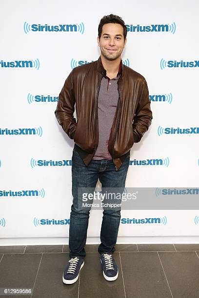 Actor Skylar Astin visits SiriusXM Studio on October 6 2016 in New York City