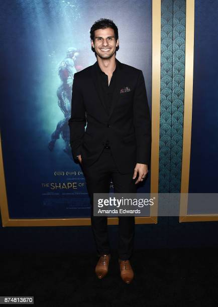 Actor Skyler Bible arrives at the premiere of Fox Searchlight Pictures' 'The Shape Of Water' at the Academy Of Motion Picture Arts And Sciences on...