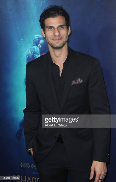 Actor Skyler Bible arrives for the Premiere Of Fox Searchlight Pictures' 'The Shape Of Water' held at Academy Of Motion Picture Arts And Sciences on...