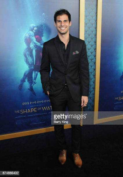 Actor Skyler Bible attends the premiere of Fox Searchlight Pictures' 'The Shape Of Water' at Academy Of Motion Picture Arts And Sciences on November...