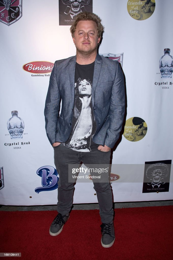 Actor Skyler Stone attends the 10th annual anniversary and Cinco De Mayo benefit with annual Charity Celebrity Poker Tournament at Velvet Margarita on May 4, 2013 in Hollywood, California.