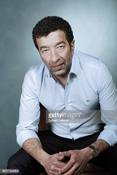 Actor Slimane Dazi is photographed for Self Assignment on April 17 2016 in Liege Belgium