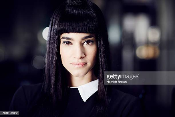 Actor Sofia Boutella is photographed for 20th Century Fox on December 15 2015 in London England