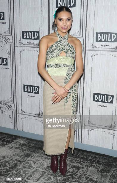 Actor Sofia Bryant attends the Build Series to discuss I Am Not Okay with This at Build Studio on March 03 2020 in New York City