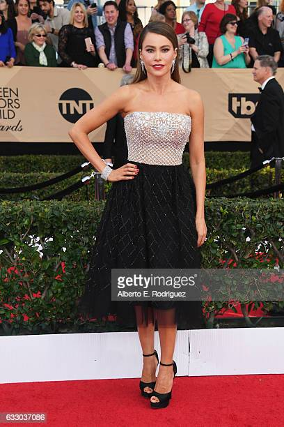 Actor Sofia Vergara attends the 23rd Annual Screen Actors Guild Awards at The Shrine Expo Hall on January 29 2017 in Los Angeles California