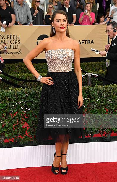 Actor Sofia Vergara attends The 23rd Annual Screen Actors Guild Awards at The Shrine Auditorium on January 29 2017 in Los Angeles California 26592_008