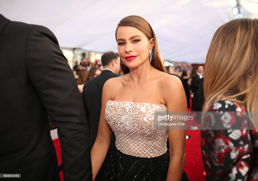 Actor Sofia Vergara attends The 23rd Annual Screen Actors Guild Awards at The Shrine Auditorium on January 29, 2017 in Los Angeles, California. 26592_012