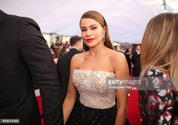 Actor Sofia Vergara attends The 23rd Annual Screen Actors Guild Awards at The Shrine Auditorium on January 29 2017 in Los Angeles California 26592_012